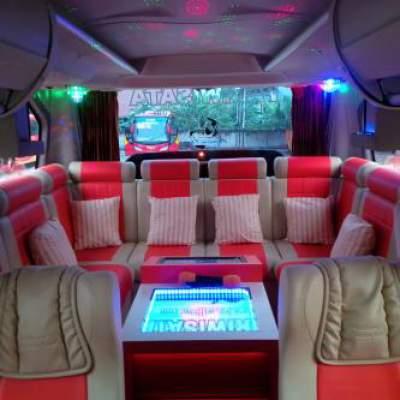 Bus Pariwisata Karaoke – Sewa Bus Pariwisata Karaoke