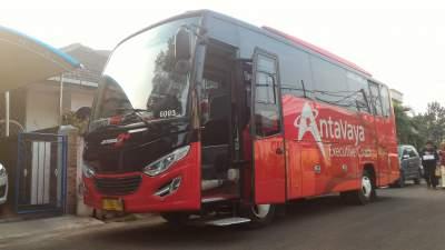Bus Antavaya Medium – Perjalanan ke Bandung – AJB Tour & Trans