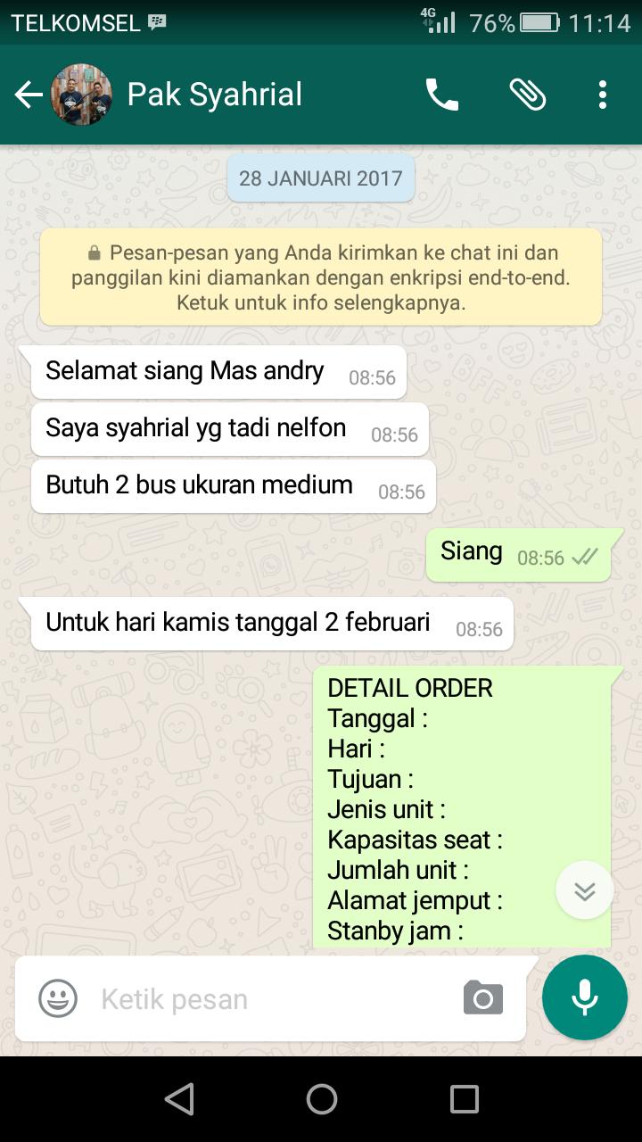 Sewa Bus Medium ke Bogor – Klien AJB Tour & Trans