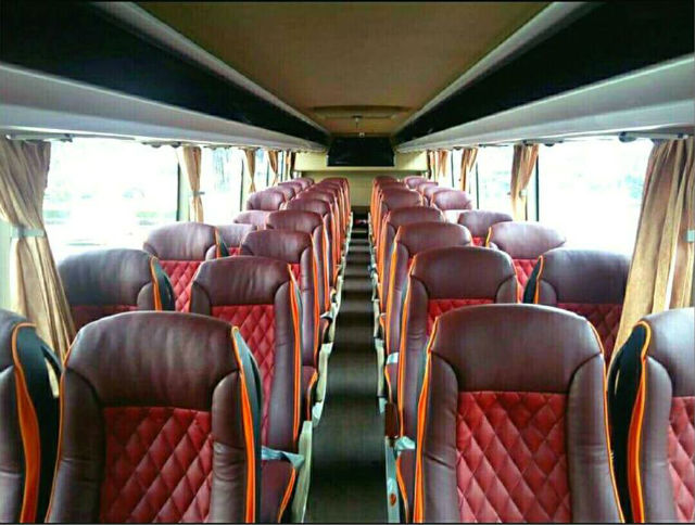MotoBus, Motor Naik Bus Interior