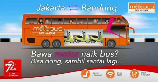 MotoBus, Motor Naik Bus